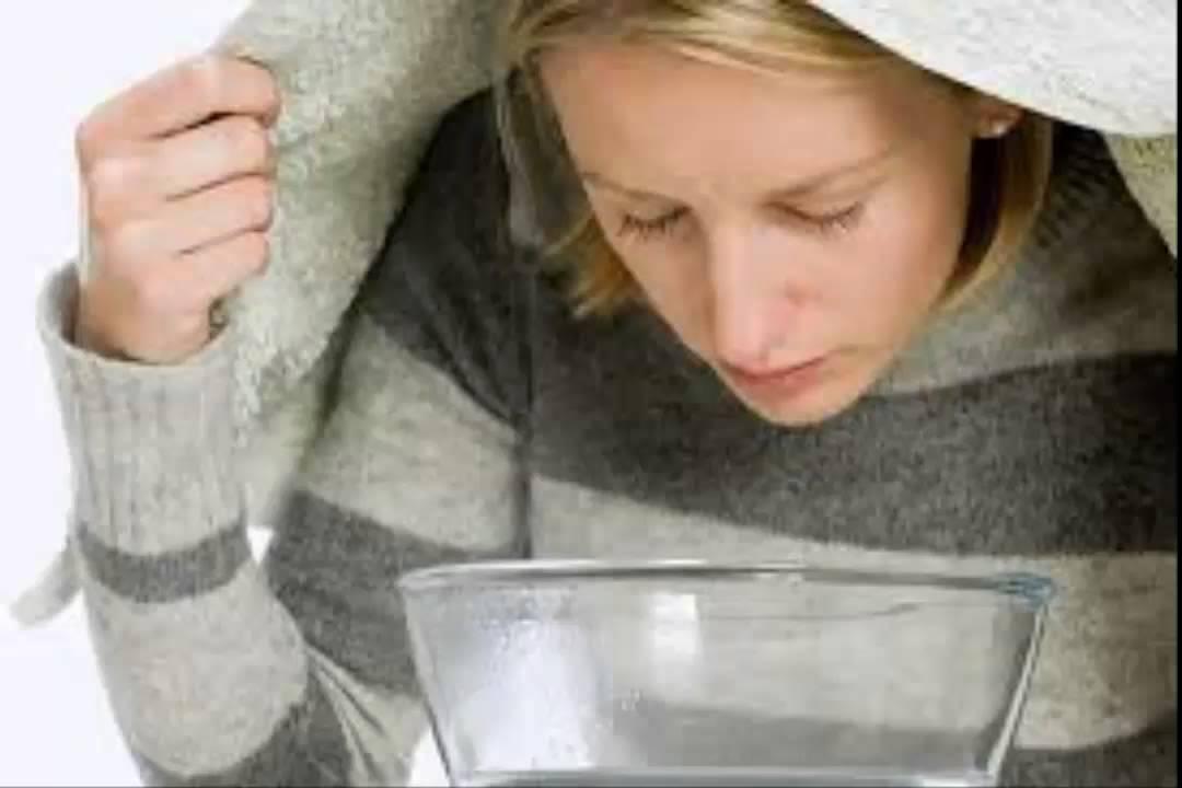 Xông hơi giúp cải thiện tắc mũi, nghẹt mũi do viêm xoang sàng sau