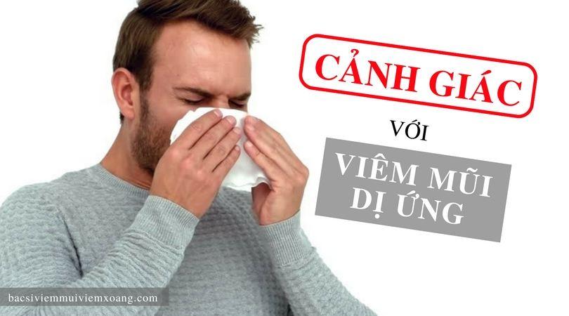 Cần cảnh giác với những nguyên nhân gây viêm mũi dị ứng