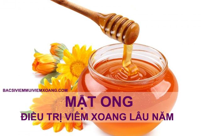 Mật ong chữa bệnh viêm xoang mũi lâu năm