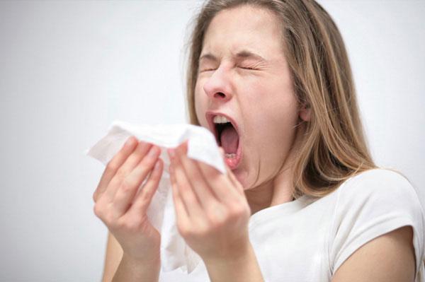 Viêm mũi dị ứng dễ gây hắt hơi, ngứa mũi
