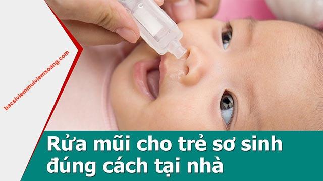 Chữa nghẹt mũi cho trẻ 6 tháng tuổi