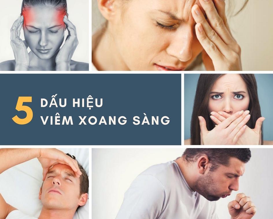 5 dấu hiệu viêm xoang sàng sau không thể xem thường