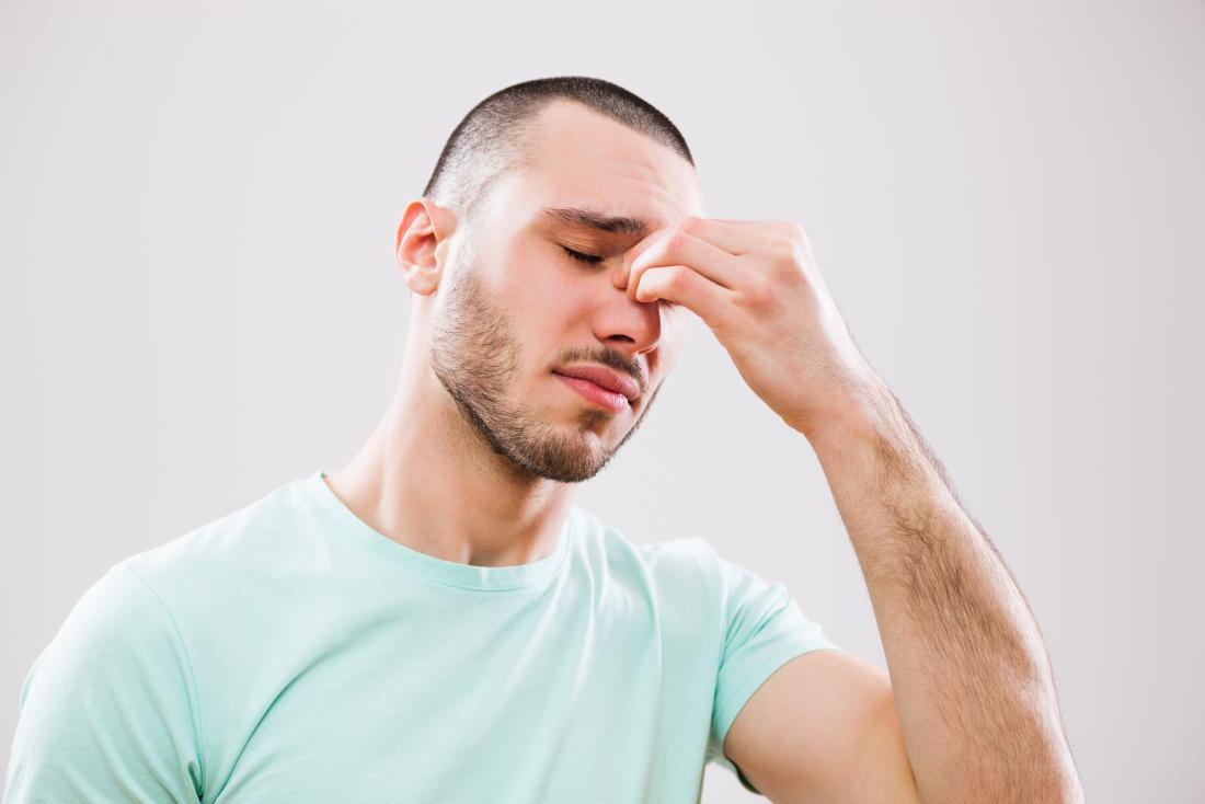 Mắt bị mờ, suy giảm thị lực do viêm xoang sàng sau
