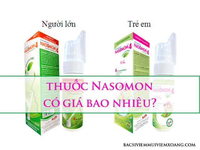 Thuốc Nasomon có giá bao nhiêu?