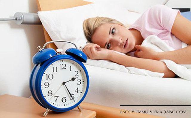 Viêm mũi có nguy hiểm gây biến chứng về rối loạn giấc ngủ