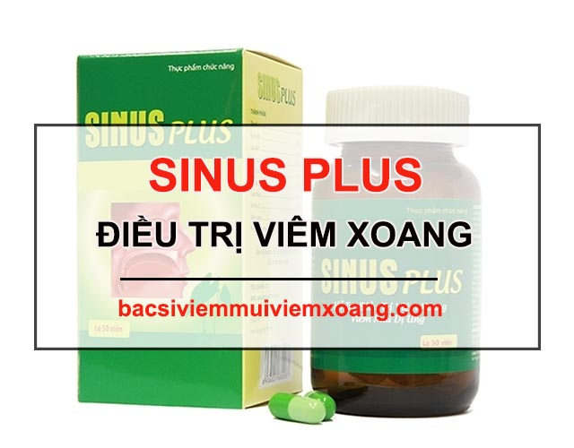 thuốc thảo dược sinus plus