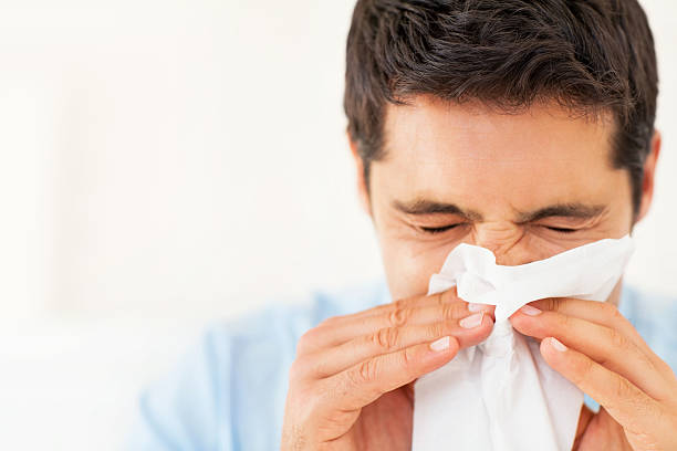 Nghẹt mũi chảy mũi do viêm xoang