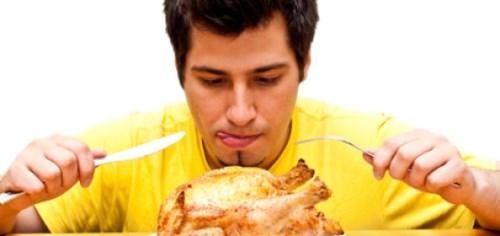 Bị mắc bệnh viêm xoang có nên ăn thịt gà không