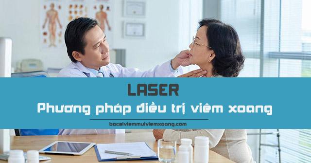 Phương pháp điều trị viêm xoang bằng laser