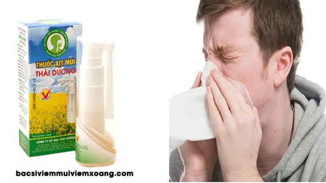 Thuốc xịt mũi Thái Dương  - thuốc xịt mũi thái dương có dùng cho bà bầu