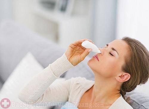 Ngưng sử dụng thuốc khi bệnh viêm xoang đã khỏi