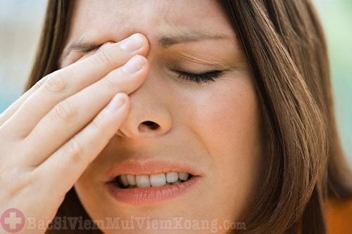 Bệnh viêm xoang cấp tính gây khó chịu, phiền toái cho người bệnh