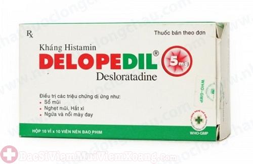 Thuốc Delopedil trị viêm mũi dị ứng