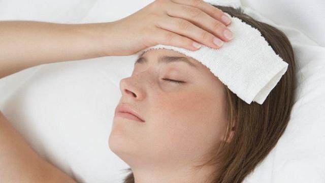 Dấu hiệu sốt nhẹ ở bệnh nhân viêm xoang