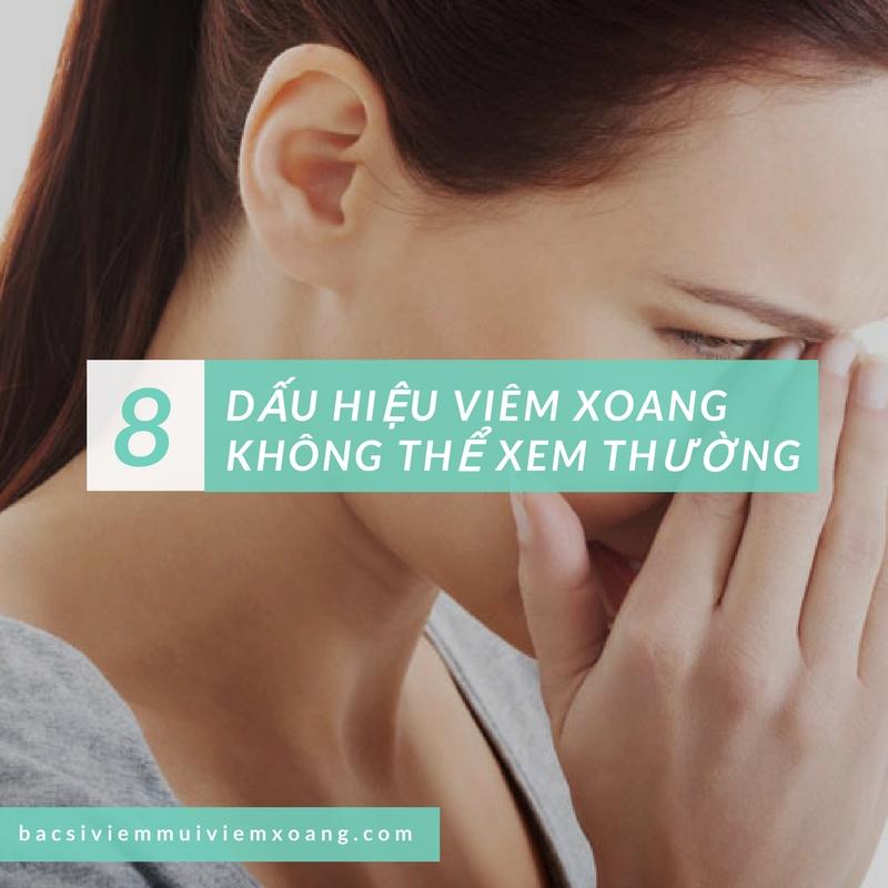 8 dấu hiệu viêm xoang hàm không thể xem thường