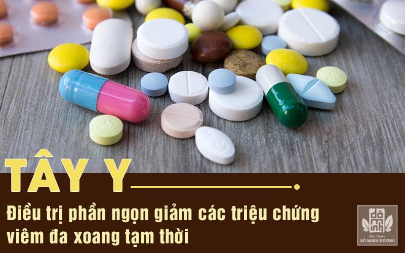 Dùng thuốc Tây y chữa viêm đa xoang chỉ giúp điều trị bệnh ở phần ngọn