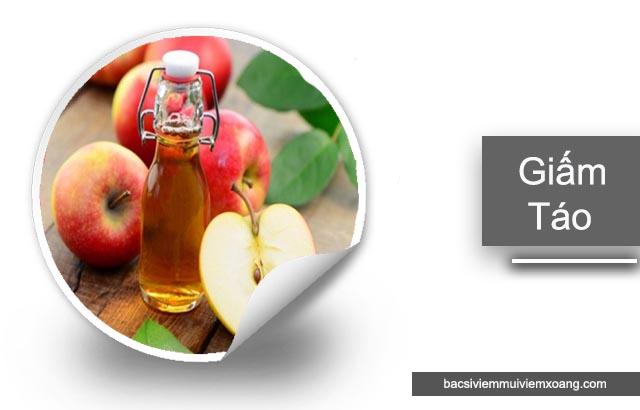 Giấm táo chữa viêm xoang