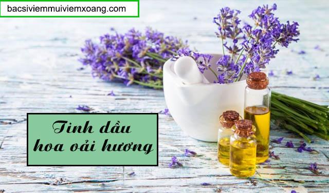 Tinh dầu hoa oải hương - Thuốc hít trị viêm xoang
