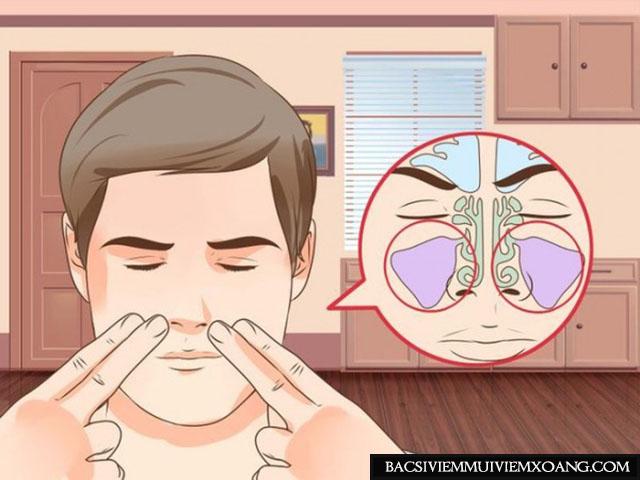 Làm gì khi bị viêm xoang mũi? - Massage giúp trị viêm xoang hiệu quả