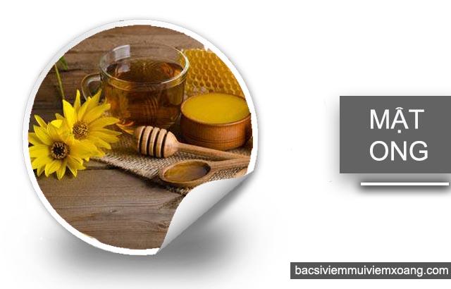 Mật ong chữa viêm xoang hàm