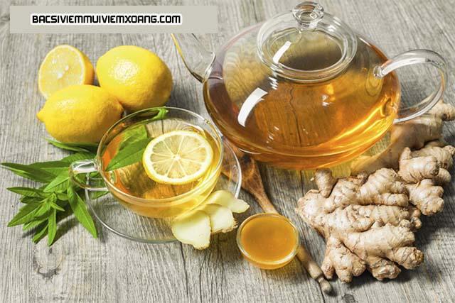 Cách chữa viêm họng viêm thanh quản bằng trà gừng