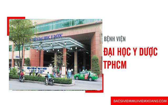 Chữa bệnh viêm mũi dị ứng ở đâu - Khoa tai mũi họng của bệnh viện Đại học Y dược TP HCM