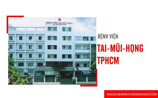 Chữa bệnh viêm mũi dị ứng ở đâu - Bệnh viện Tai - Mũi - Họng TP HCM
