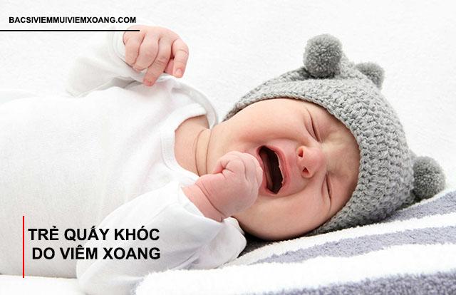 Dấu hiệu nhận biết viêm xoang ở trẻ sơ sinh