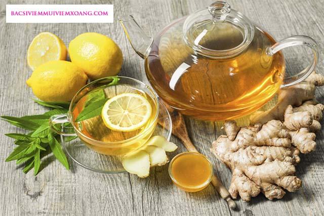 Điều trị viêm mũi dị ứng quanh năm bằng trà gừng