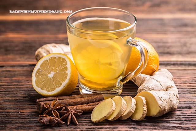Điều trị viêm mũi dị ứng theo mùa tại nhà bằng trà gừng
