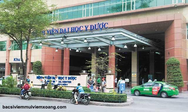Khám viêm xoang ở đâu tốt nhất thành phố Hồ Chí Minh