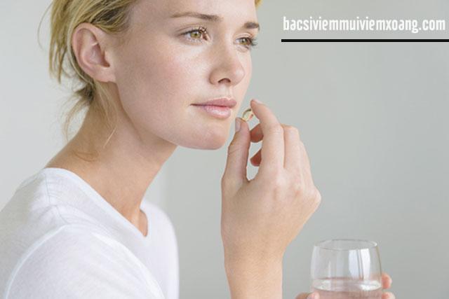 Thuốc điều trị viêm xoang mũi dị ứng bội nhiễm