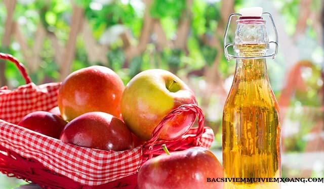 Giấm táo - Món ăn trị viêm họng