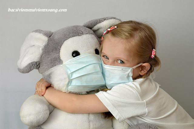 Chăm sóc trẻ bị viêm họng cấp