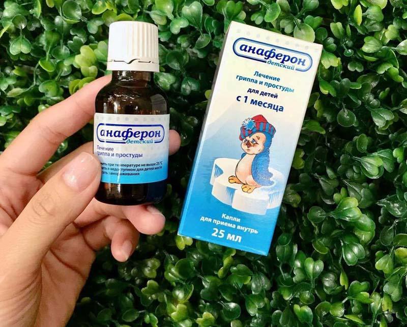Anaferon giúp tăng sức đề kháng ở trẻ nhỏ