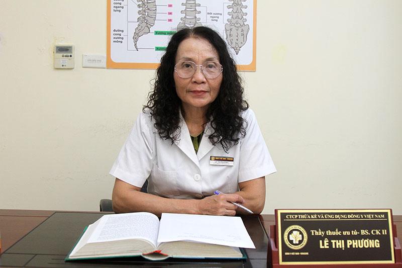 Thầy thuốc ưu tú, bác sĩ Lê Phương