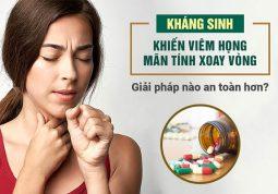 Điều trị viêm xoang không dùng kháng sinh