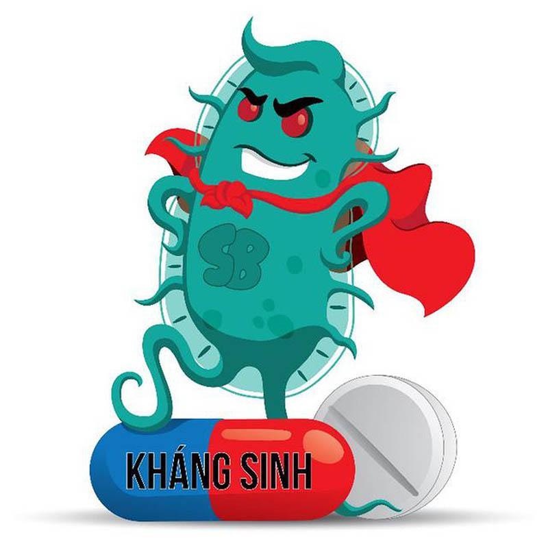 Dùng kháng sinh thường xuyên hoặc không đúng cách làm tăng nguy cơ kháng thuốc