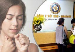 chữa viêm họng tại Trung tâm Đông y Việt Nam