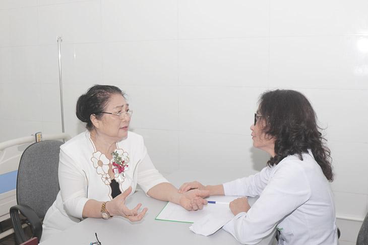 Nghệ sĩ Kim Xuyến từng điều trị viêm xoang thành công nhờ bác sĩ Lê Phương