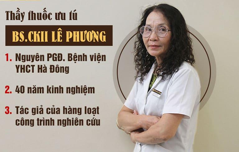 Bác sĩ Lê Phương đã có hơn 40 năm điều trị bệnh TMH