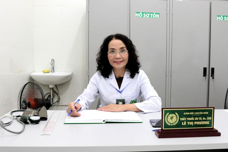 Bác sĩ Lê Phương- Giám đốc chuyên môn CTCP Bệnh viện Đa khoa YHCT Quân Dân 102