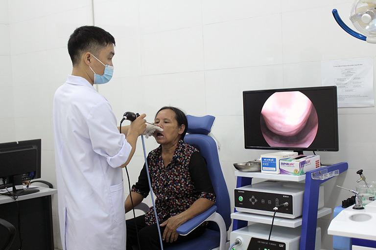 Bệnh viện Tai Mũi Họng Quân Dân 102 ứng dụng máy móc hiện đại giúp chẩn đoán bệnh hiệu quả