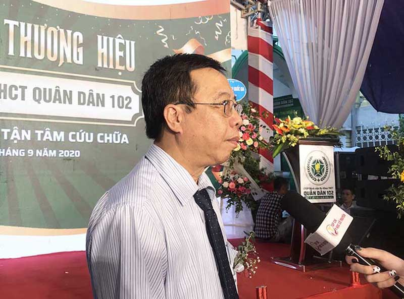 Bác sĩ Lê Hữu Tuấn đánh giá về giải pháp chữa viêm xoang Quân dân 102