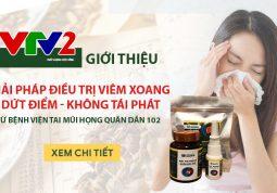 Giải pháp chữa viêm xoang VTV2 Giới thiệu