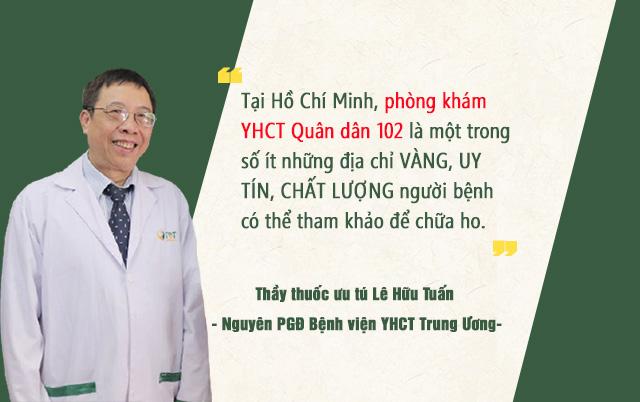 Nhận định của Thầy thuốc ưu tú Lê Hữu Tuấn
